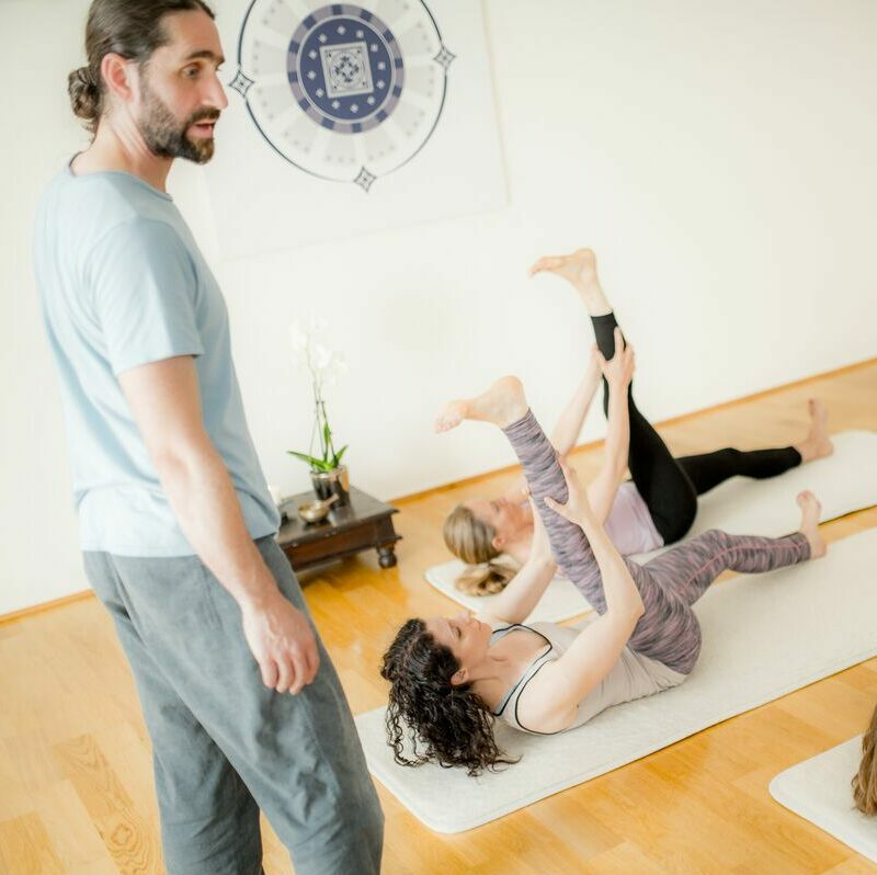 Mindful yoga is a way of Being with your practice
